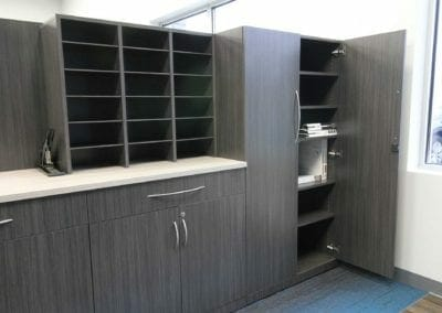 custom office storage