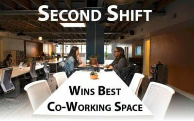 Our Client, SECOND SHIFT Wins Best Co-Working Space