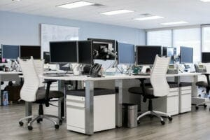 Sleek and modern workstations