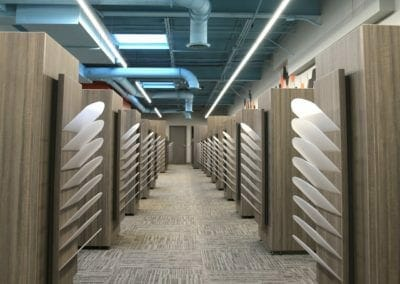 Cubicles storage design