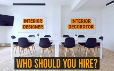 Interior Designer or Interior Decorator – Which Should You Hire?