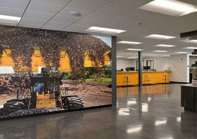 branded wall design
