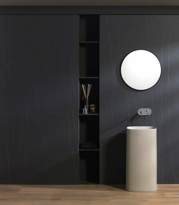 half bathroom design