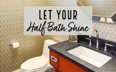 Half Bath Design